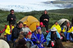 Fire and Ice Cermony 2009 Greenland