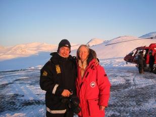 Steve in Greenland