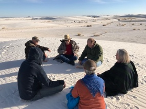 Meditation at White Sands, New Mexico